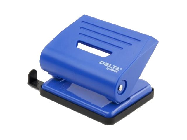 Дырокол на  16л Axent пластик синий D3616-02