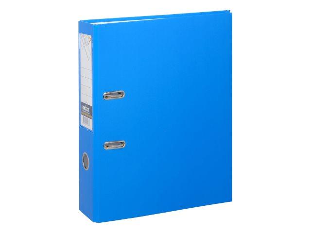 Регистратор  А4/80 Index Colourplay голубой неон IND 8 LA BU