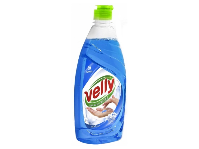 Гель для мытья посуды 500 мл Grass Velly Нежные ручки 125382