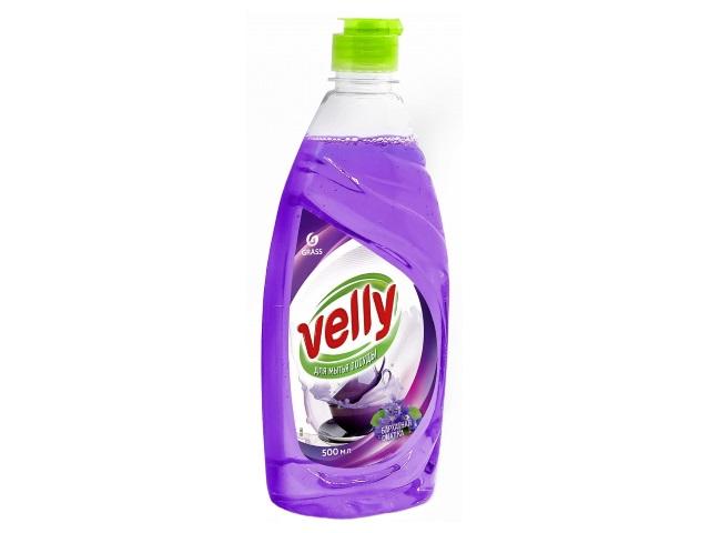 Гель для мытья посуды 500 мл Grass Velly Бархатная фиалка 125383