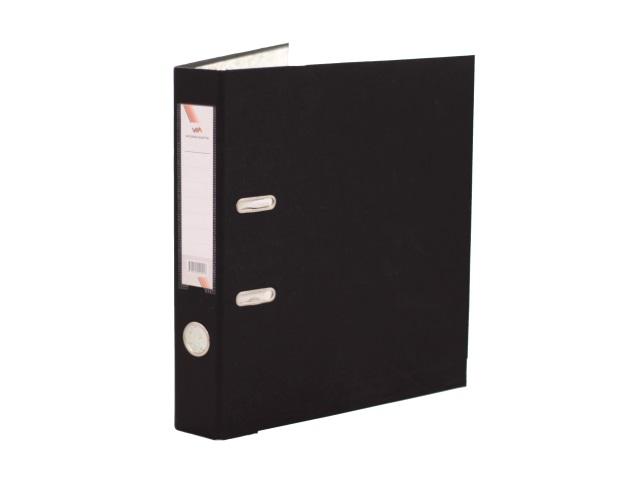 Регистратор  А4/50 WM черный с металлической окантовкой 059000901