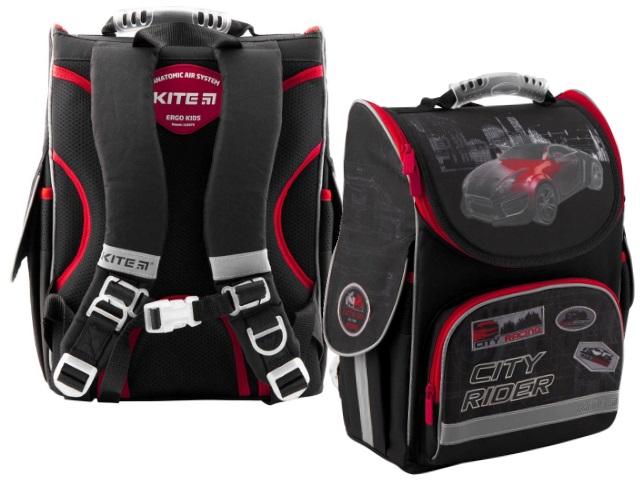 Ранец школьный Kite Education City Rider 35*25*13см черный K19-501S-6