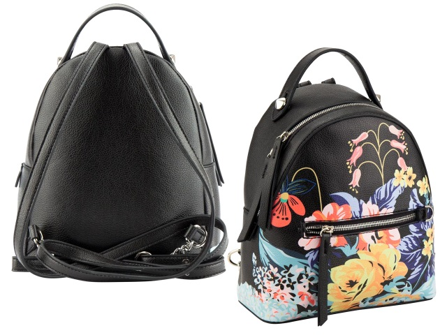 Рюкзак кожзам Kite Dolce 21*10*24.5см черный K18-2524XXS