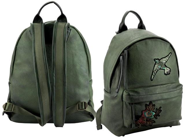 Рюкзак кожзам Kite Dolce 28.5*1*37см зеленый K18-2529S-2