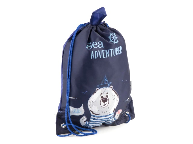 Сумка для обуви Kite Sea adventurer 34*26см синяя K18-600XS-3