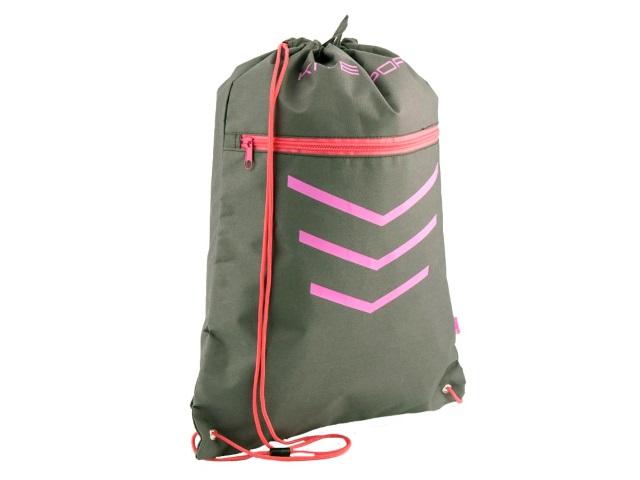 Сумка для обуви Kite Sport 49*36см серо-розовая K18-601L-3