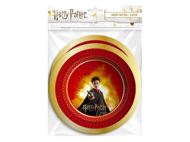 Тарелки картон  6 шт. 18 см NDPlay Harry Potter 278518