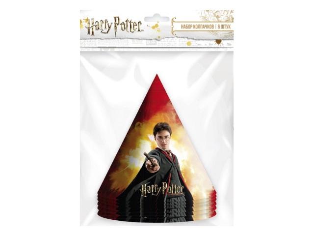 Колпаки картон  6 шт. NDPlay Harry Potter 278520