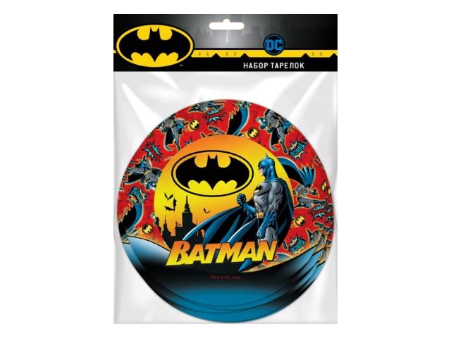 Тарелки картон  6 шт. 18 см NDPlay Batman 279727