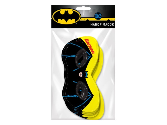 Маски 6 шт. NDPlay Batman 280565
