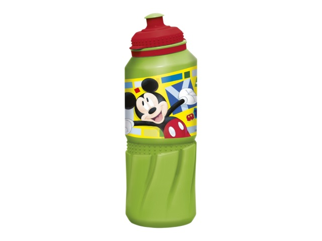 Бутылка пластик 530мл спорт NDPlay Микки Маус Акварель 281903