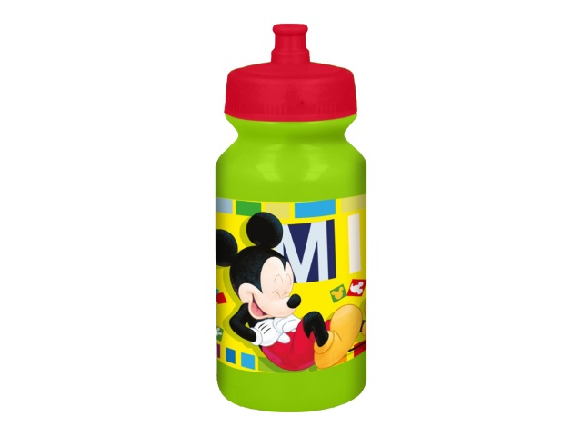 Бутылка пластик 340мл спорт NDPlay Микки Маус Акварель 281910