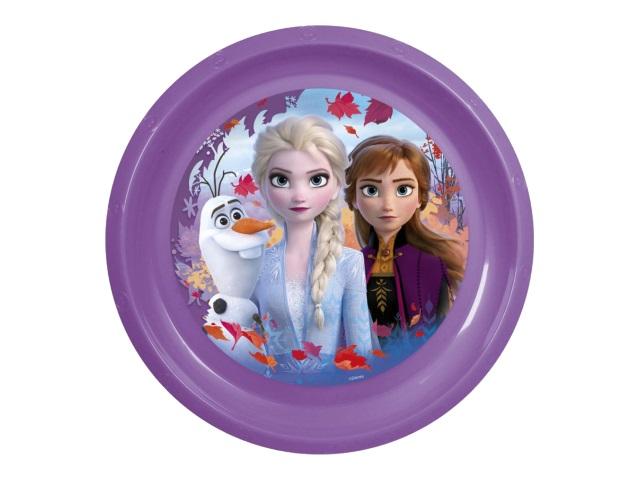 Тарелка пластик NDPlay Холодное сердце-2 283928