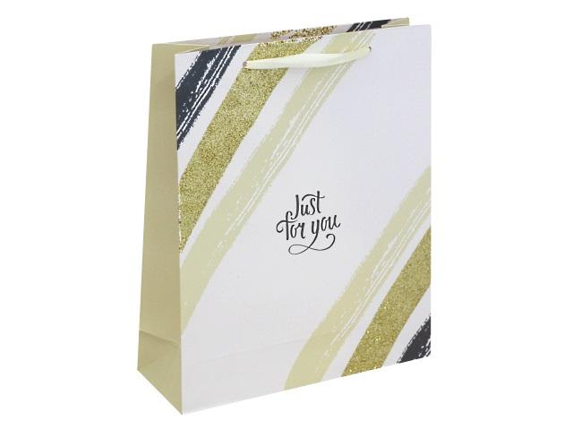 Пакет подарочный бумажный 26.4*32.7*13.6см Для тебя Miland ППД-9620