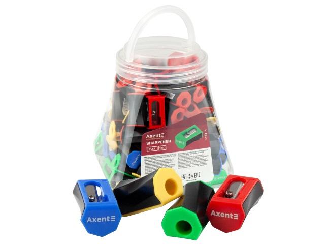 Точилка пластик Axent Flex 1161-A