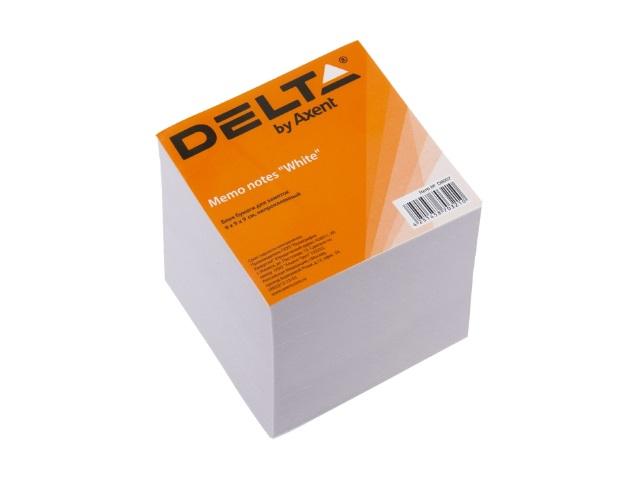 Блок бумажный белый  90*90 мм 900л Axent Delta D8007
