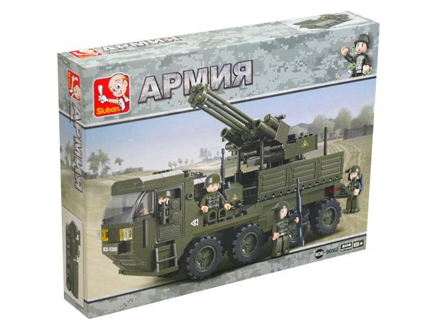 Конструктор  306 деталей Тяжелый транспортер Sluban M38-B0302