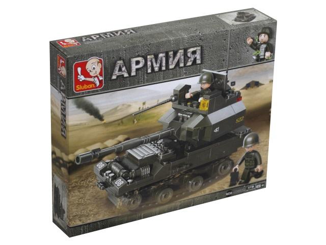 Конструктор  178 деталей Sluban Армия Танковый корпус Танк 290 M38-B0282