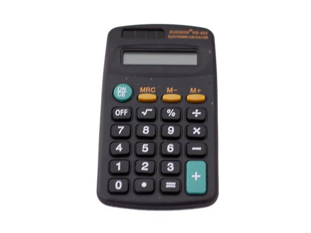 Калькулятор  8-разрядный Ronbon Kenko черный 10*5.5 см RB-402