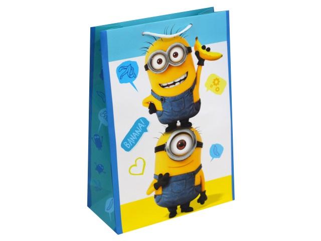 Пакет подарочный бумажный 22*31*10см NDPlay Minions-2 287119