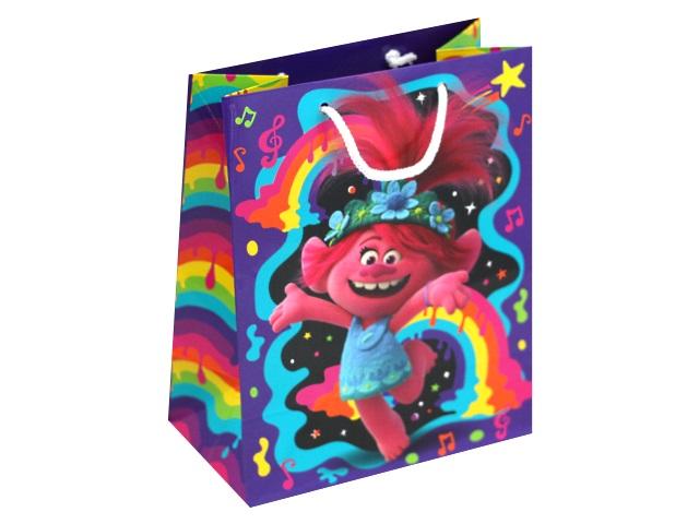 Пакет подарочный бумажный 18*22*10см NDPlay Trolls 287175