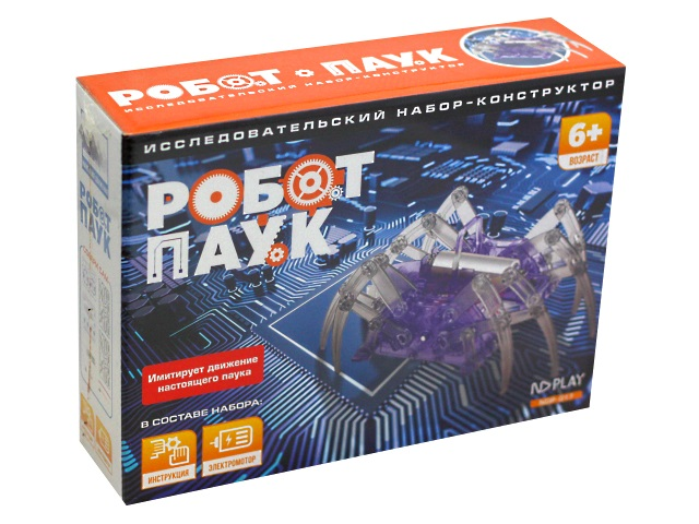 Конструктор NDPlay Робот-паук с электромотором 271122