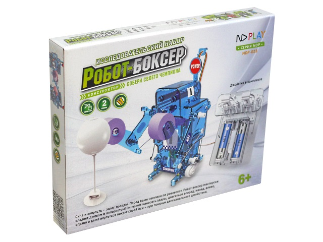 Конструктор NDPlay Робот-боксер на батарейках 273871