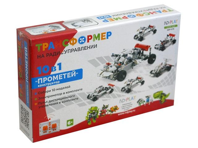 Конструктор-трансформер на радиоуправлении NDPlay Прометей 10в1 284384