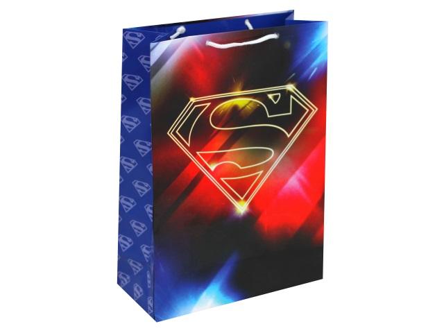 Пакет подарочный бумажный 22*31*10см NDPlay Superman 286215