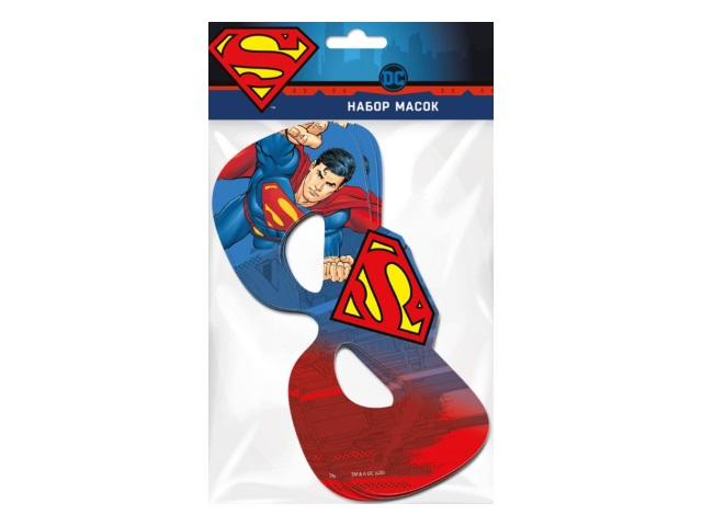 Маски 6 шт. NDPlay Superman 288329