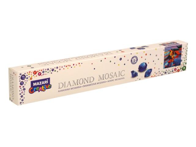 Алмазная мозаика без подрамника 30*30см Mazari Причал M-10508