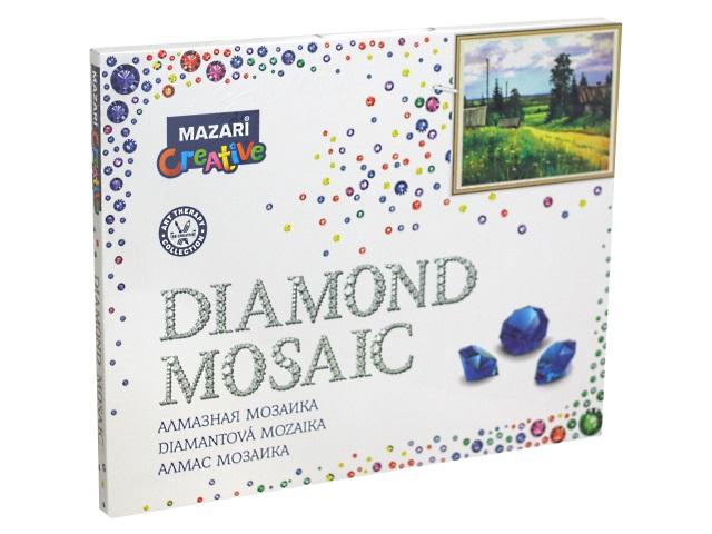 Алмазная мозаика 40*50см Mazari Сельский пейзаж M-11271
