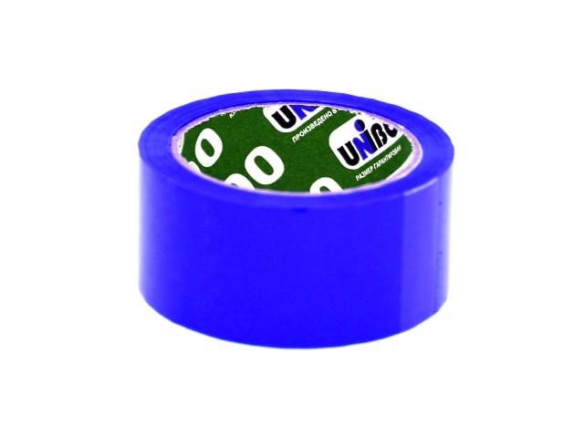 Скотч 48* 66м 45мкм синий Unibob 600 30310