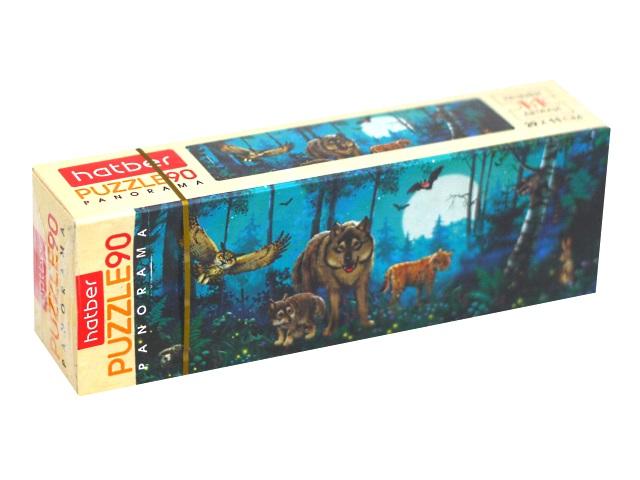 Пазлы   90 деталей Hatber В сказочном лесу 90ПЗ4_19280