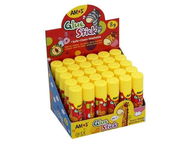 Клей-карандаш  8г Amos Kids GSW8AR