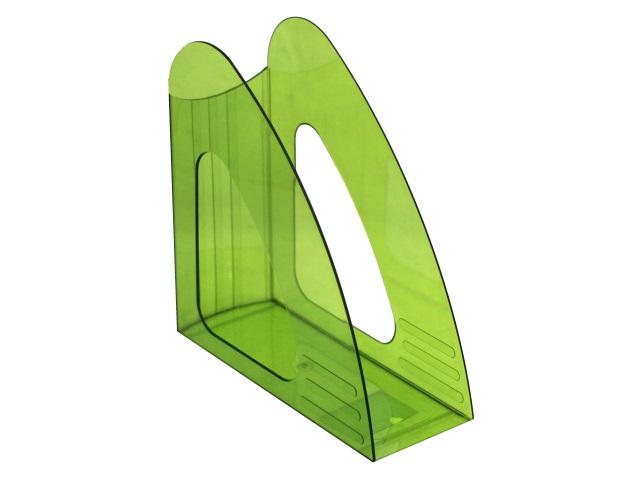 Лоток вертикальный  9см Mazari Light прозрачный зеленый M-16035