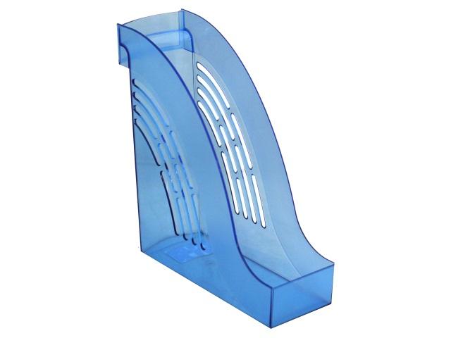Лоток вертикальный 10см Mazari Тор прозрачный синий M-16019