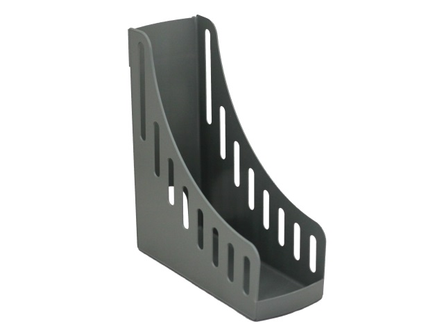 Лоток вертикальный 10см Mazari Style серый M-16026