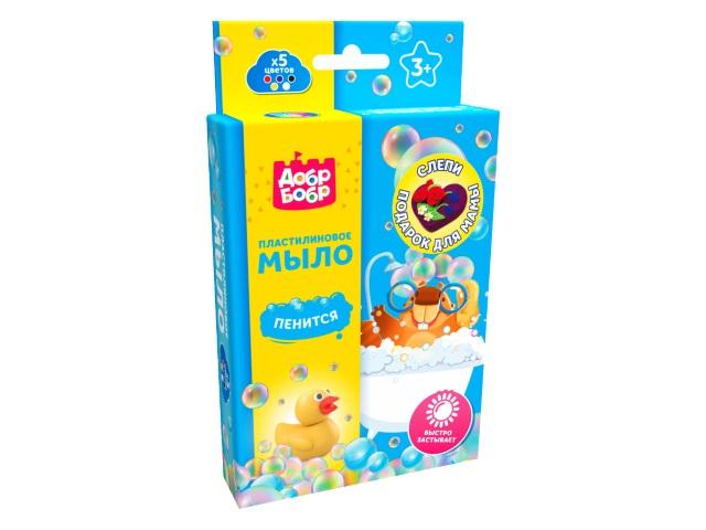 Пластилин мыльный ДобрБобр Подарок для мамы 75г ПМ575-14