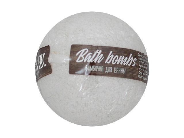 Бомбочка для ванны ДобрБобр 135г белая с игрушкой Б0001