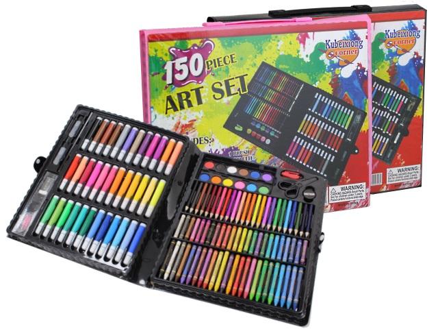 Набор для творчества 150 предметов в портфеле Basir МС-5065