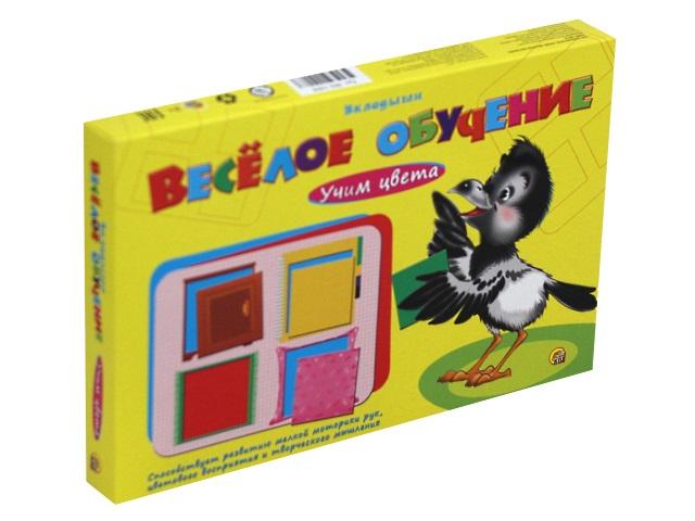 Игра развивающая Веселое обучение Учим цвета Рыжий кот ИН-1008