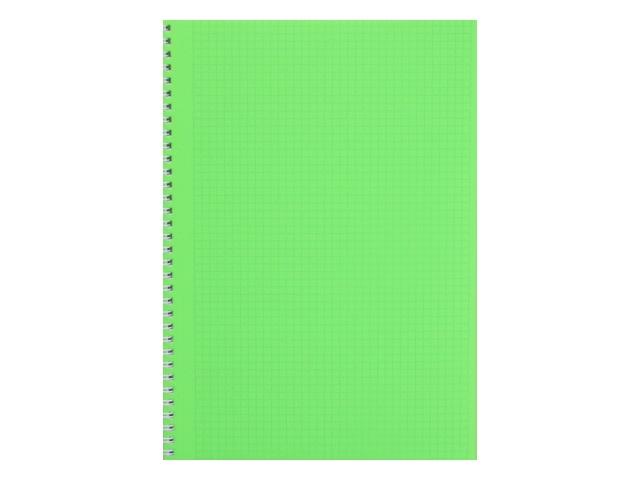 Тетрадь А4  80л Hatber спираль Diamond Neon зеленая 80Т4B1гр_02034