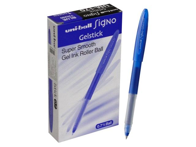 Ручка гелевая Uni Signo синяя 0.7мм UM-170 66279