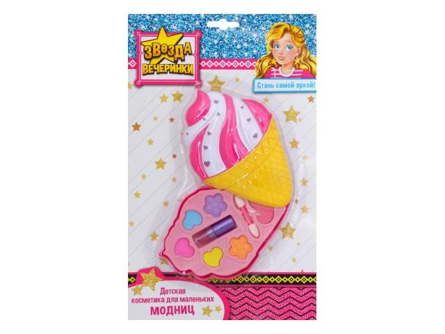 Косметика декоративная детская Звезда вечеринки Мороженое КС-4773