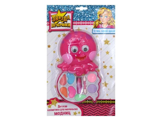 Косметика декоративная детская Звезда вечеринки Осьминожка КС-4771