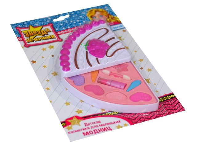 Косметика декоративная детская Звезда вечеринки Тортик КС-4774