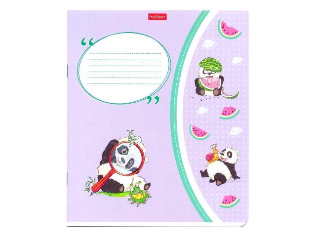 Тетрадь 24л клетка Hatber Приключения маленькой панды 24Т5В1