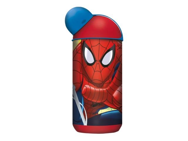 Бутылка пластик 400мл спорт NDPlay Человек-паук Красная паутина 274566