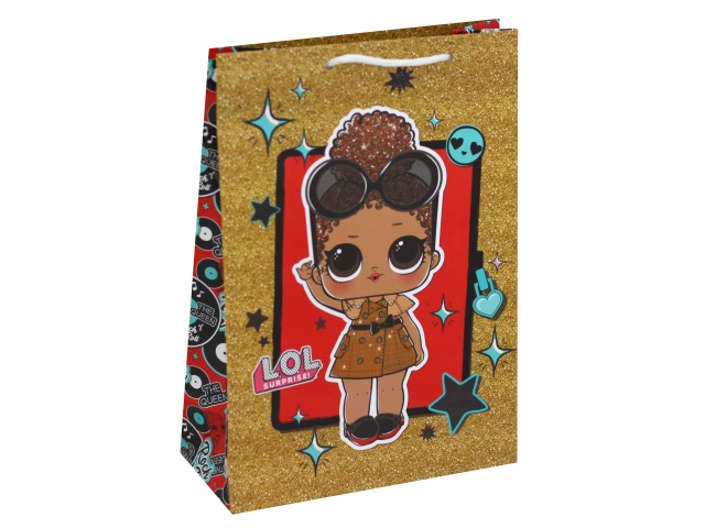Пакет подарочный бумажный 18*23*10см NDPlay LOL 288755